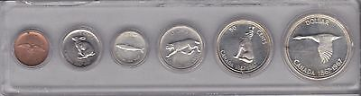1967 Coin Set in Plastic Holder Silver