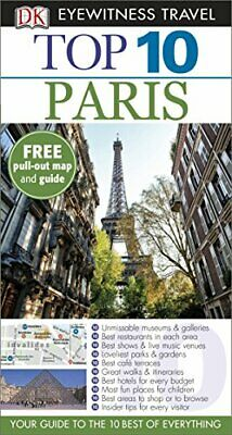 DK Eyewitness Top 10 Travel Guide: Paris by Gerrard, Mike Book The Cheap Fast