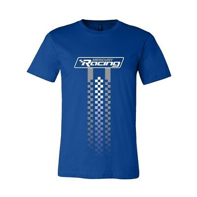 Mercury Marine Racing Royal Blue Softstyle Short Sleeve T-Shirt