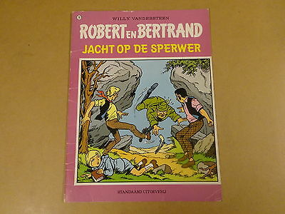 Strip 1° Druk / Robert En Bertrand N° 20 - Jacht Op De Sperwer
