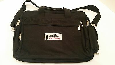 2004 Coca Cola Team Laptop ~ Messenger Bag ~Black
