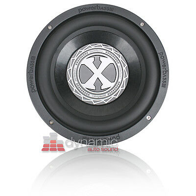 "PowerBass 2XL-1504D 15"" Dual 4 ohm 2XL Series Car Audio Subwoofer Sub New"