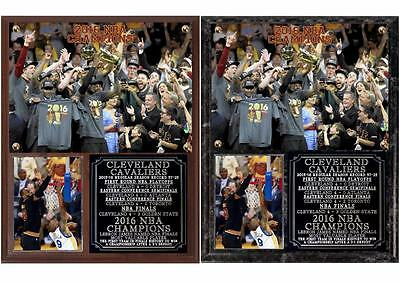 Cleveland Cavaliers 2016 NBA Champions Photo Plaque LeBron James-Kyrie Irving