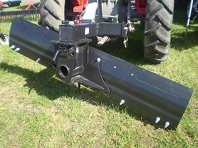Hayes 6Ft Heavy Duty Tractor Grader Blade - 3 Point Linkage (3Pl) - 25-60Hp