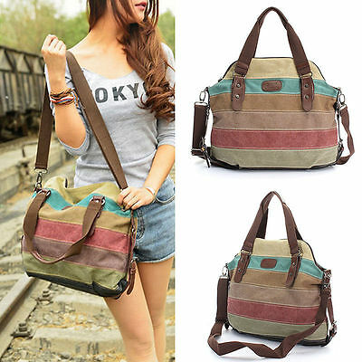 Fashion Women Shoulder Bag Satchel Crossbody Tote Handbag Purse Messenger Canvas