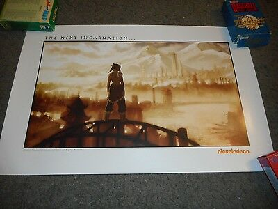 "The Legend Of Korra - Original Rolled Ss Publicity Poster - 11"" X 17"""