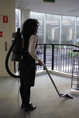 Deluxe Commercial Backpack Vacuum Cleaner - Most Powerful, HEPA filter
