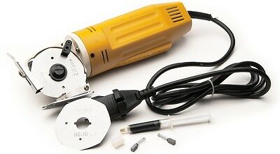 "Mini Round Cutting Machine with 2-1/2"" Blade for all types of fabrics,110 volt"