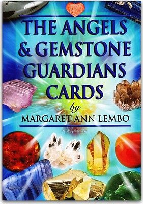 """angels & Gemstone Guardians Card Deck, The"" By Margaret Ann Lembo (Oracle)"