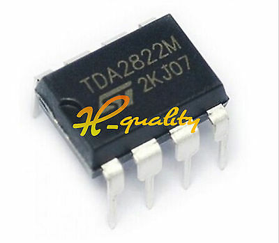 10Pcs Ic Tda2822M Tda2822 Dip-8 St Amp Audio Dual Low Volt