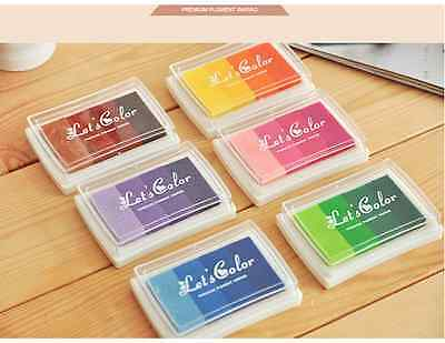 Rainbow Pattern / Gradient Color INK PAD *6 DIFFERENT OPTIONS*