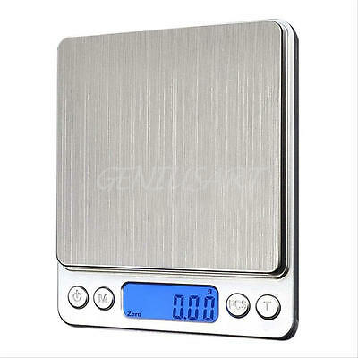 500g 0.01 /3000g DIGITAL POCKET SCALES JEWELLERY PRECISION ELECTRONIC WEIGHT LAB