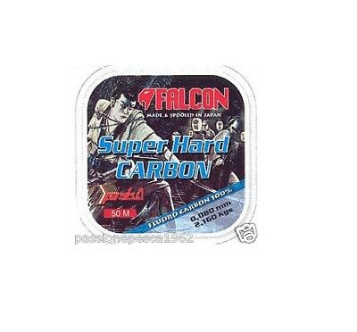 Filo Fluorocarbon Falcon Super Hard Carbon Mt 50/0,10