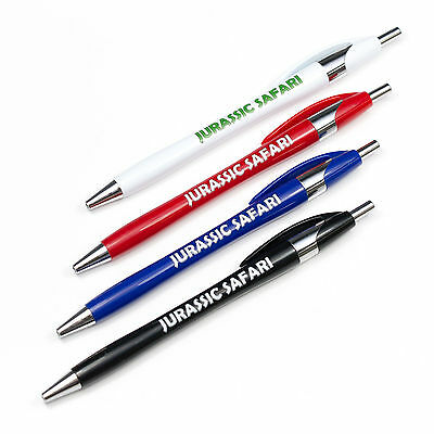 Multipack Custom Printed Chrome Curved Pens Personalised with Logo and/or Text