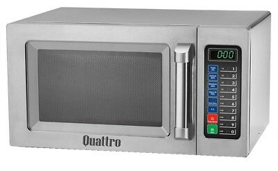 FLASH SALE Quattro 1000w Programmable Commercial Catering Microwave. Ltd Stock
