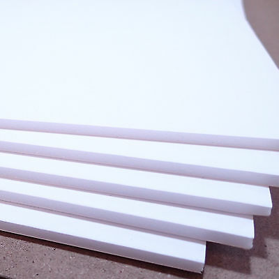 Single Sheet of A1 White 5mm Foam Board 841 x 594mm, Rigid and Lightweight