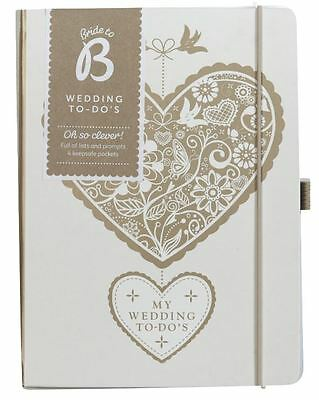 Busy B Wedding To Do's - Wedding Planner Book Diary Journal Organiser Gift