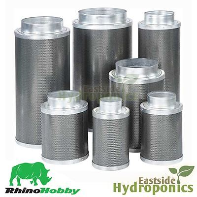 Rhino Hobby Carbon Filter Extraction 4 5 6 8 10 12 Inch Hydroponics