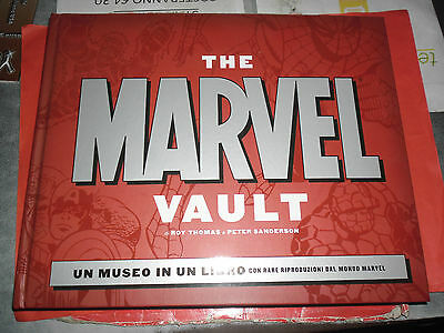 THE MARVEL- VAULT- museo in un libro- DI:ROY THOMAS-VOLUMONE CARTONATO- PANINI