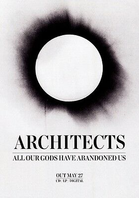 ARCHITECTS All Our Gods Have Abandoned Us PHOTO Print POSTER Band Sam Carter 005