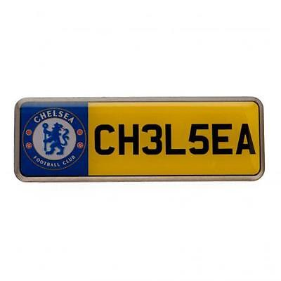 Chelsea F.C. Number Plate Badge Official Merchandise