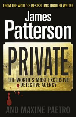 Private: (Private 1), Patterson, James Paperback Book The Cheap Fast Free Post