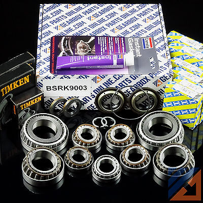 Opel Astra H 1.7 CDTi M32 gearbox pro rebuild kit with diff bearings