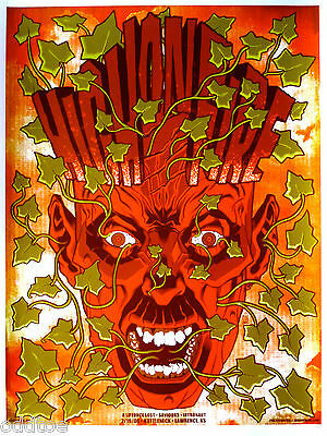 High On Fire, 2008, ORIGINAL Concert Poster s/n by Brian Ewing, ARTIST PROOF Ed.