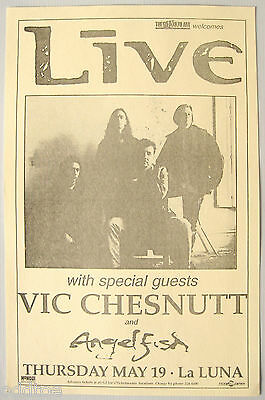 LIVE Vintage Poster 1994 Concert with VIC CHESTNUTT
