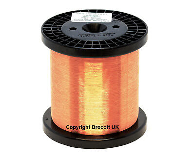 38Awg - Enamelled Copper Winding Wire, Magnet Wire, Coil Wire - 1Kg Spool