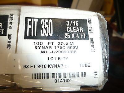 ALPHA WIRE FIT-221-1/16-CL103 Heat Shrink Tubing Fit221-1/16-Clear 4 ...