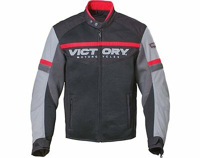 Black and Gray Victory Men's Skyline Mesh Jacket 2863731