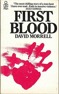 First Blood by Morrell, David Paperback Book The Cheap Fast Free Post