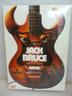 Jack Bruce Band-In Concert. Cologne, Germany 1993.-Dvd Digipack-New.sealed.