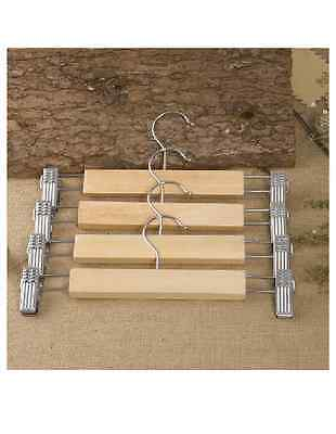 5X/10X/20X  Wooden Wood Adult / Childer Pant Hanger/ Holder/ Clip ~AU SELLER~