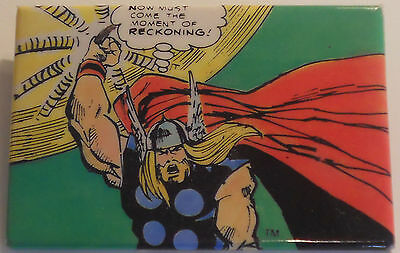 """Thor Sal Buscema art! MARVEL """"panel-pin"""" ©1987 ~2""""x3"""" from the comic book art!"""