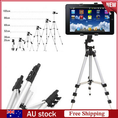 Universal Adjustable Tripod Stand Mount Holder for iPad 2 3 4 Mini Air Tablet PC