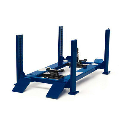 Greenlight Collectables 1:18 Adjustable Four Post Lift Glc12884 Blue
