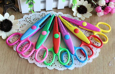DIY Decorative Edge Craft Scissors / Paper Edger / Scrapbooking Photo Cutter
