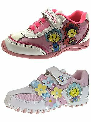 Girls Fifi And The Flowertots Skate Trainers Childrens Sports Shoes Kids Size