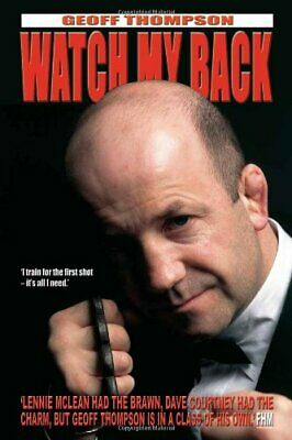 Watch My Back by Geoff Thompson Hardback Book The Cheap Fast Free Post