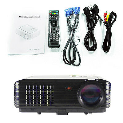 3D Smart Portable Business Projector Full Hd 1080p LED 4000Lumens Short Throw