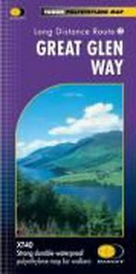 Great Glen Way Xt40 by Harvey Map Services Ltd. (English) Free Shipping!