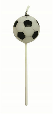 PME 4 Set FOOTBALL SOCCER Candles Birthday Party Cake Decorating