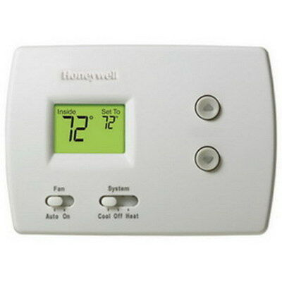 Honeywell TH3110D1008 PRO 3000 Non-Programmable Digital Thermostat (1H/1C)