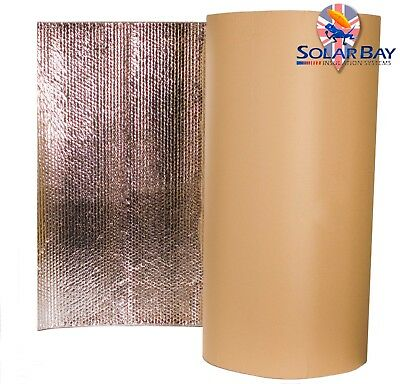 Self Adhesive Thermal Acoustic insulation Camper Caravan Radiant Foil All Sizes