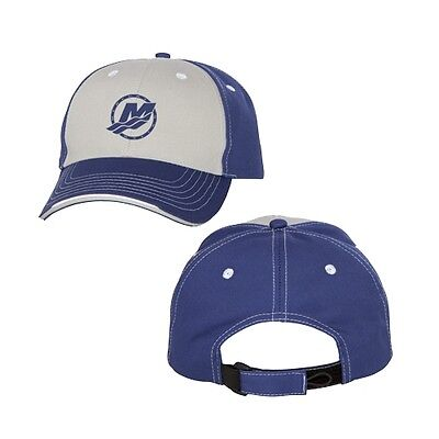 Mercury Marine Racing Two-Toned Grey/Royal Structured Cap Hat