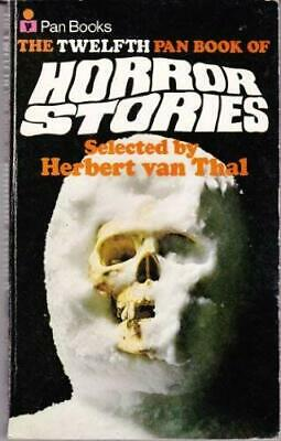 Pan Book of Horror Stories: Volume 12 Paperback Book The Cheap Fast Free Post