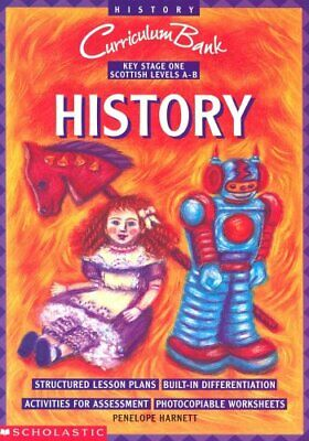 History KS1 (Curriculum Bank) by Harnett, Penelope Paperback Book The Cheap Fast
