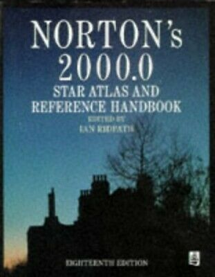 Norton's Star Atlas and Reference Handbook by etc. Hardback Book The Cheap Fast